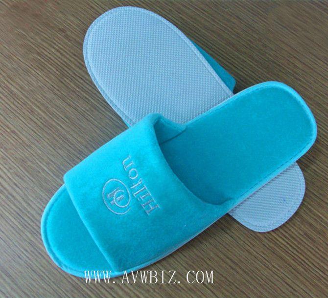 Open Toe Hotel Slipper