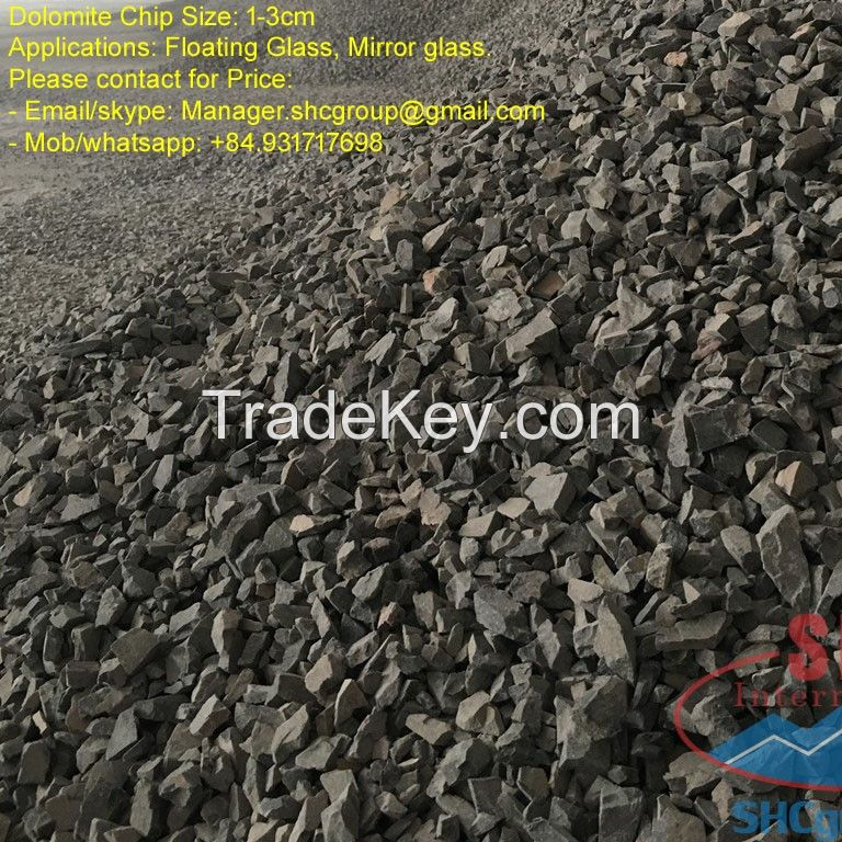 Dolomite Powder for glass mill, painting mill and fertilizer industry