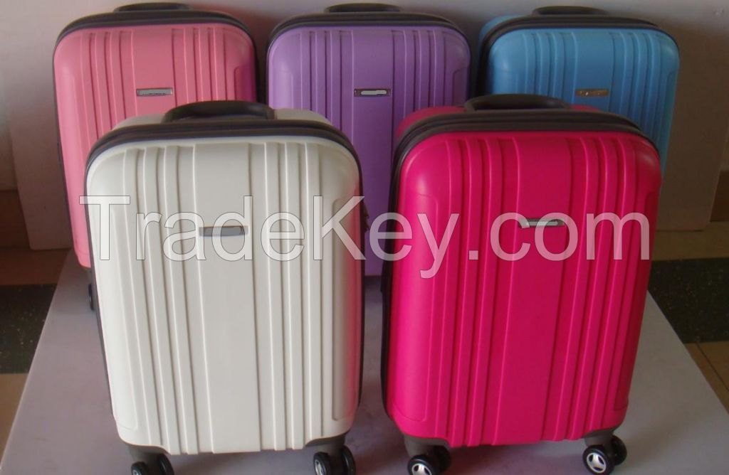 Durable  Hardside 3-piece PP Trolley Luggage  Set for Business