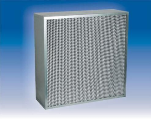 Heat-resistance HEPA filter