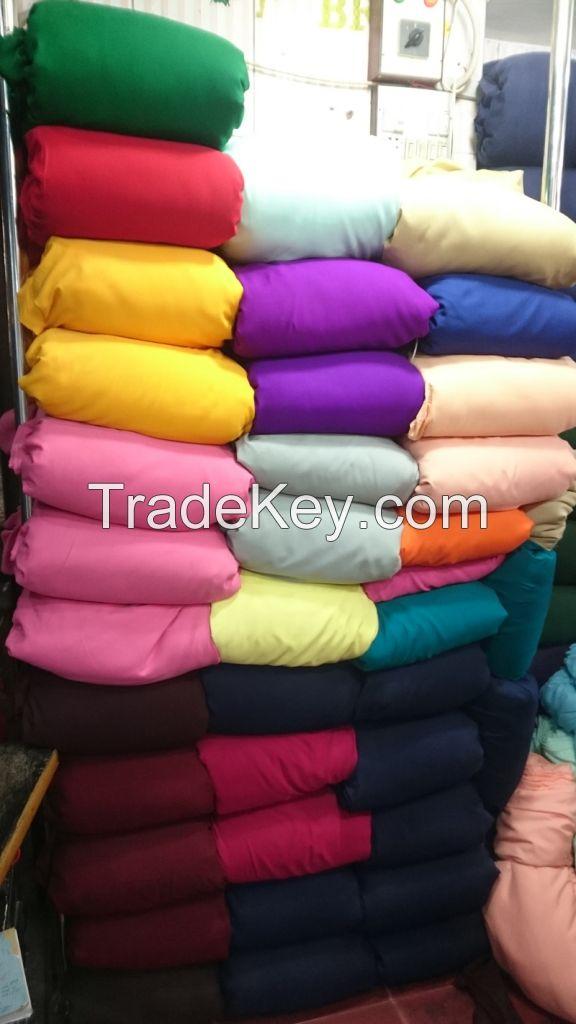 Pakistani Crinkle chiffon and Malai fabric wholesaler / exporter