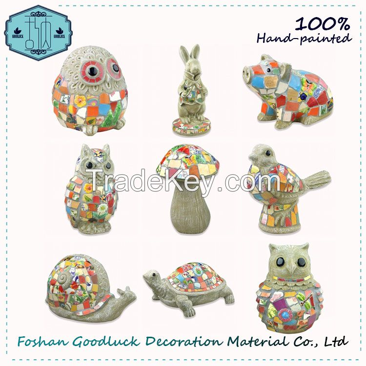 Best Price Hand Painted Garden Resin Animal Ornament Decoration