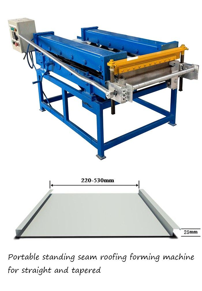 standing seam roofing machine standing seam roof panel machine snap lock roofing machine concealed panel sheeting roll forming machine standing seaming machine standing seam metal roofing machine