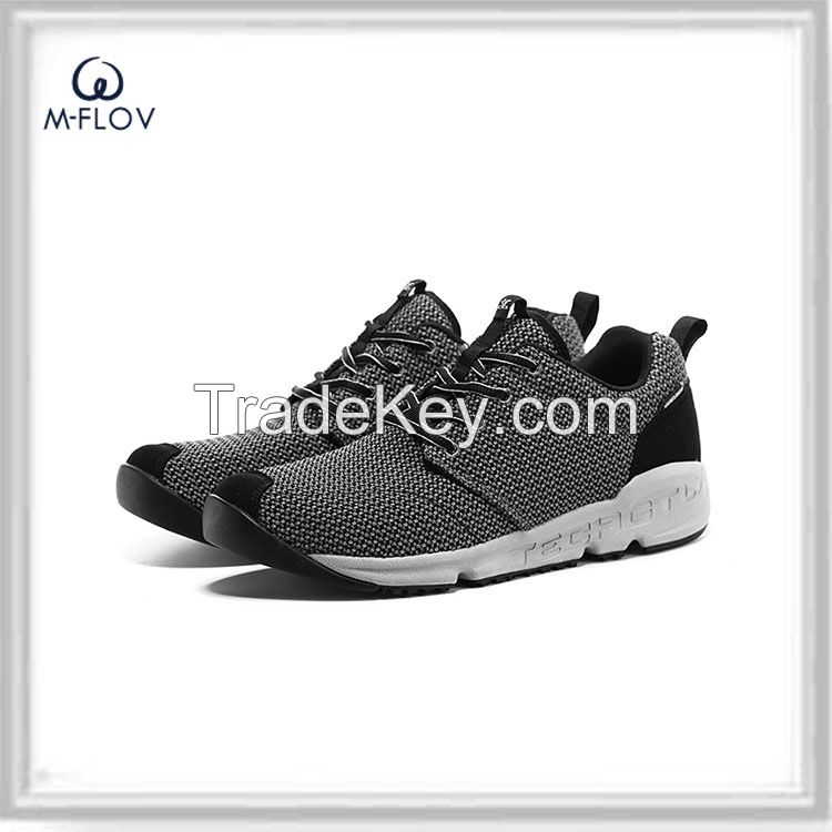 Brightly painted breathable mesh sport shoes for women