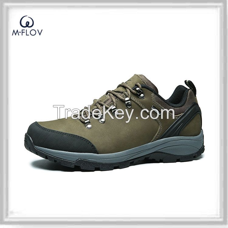 workmanship first layer leather sport shoes