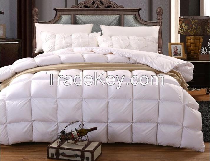Goose down duvet 100% cotton fabric king size