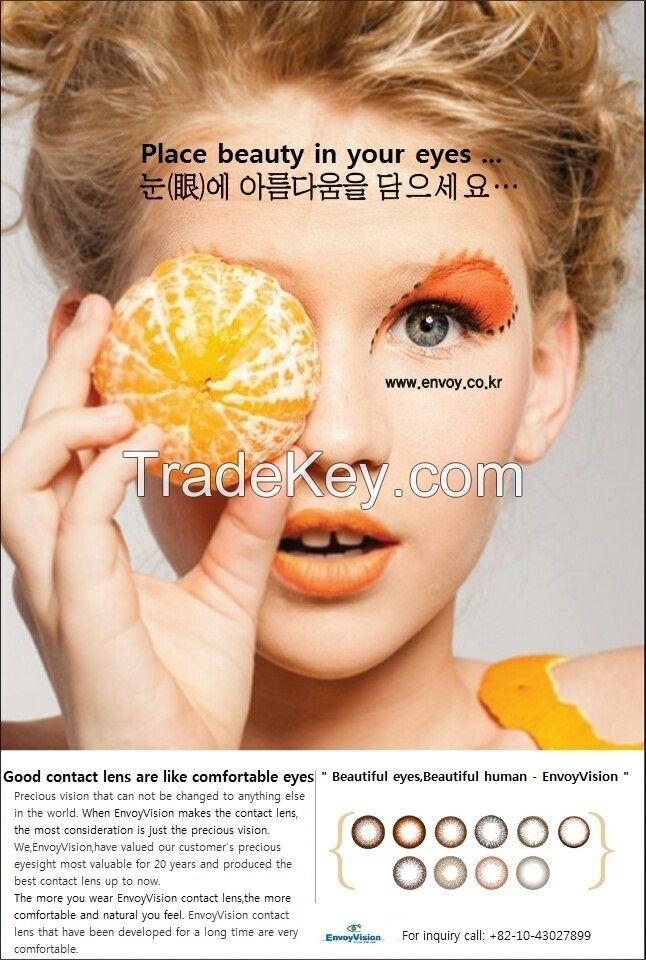 korea color contact lens