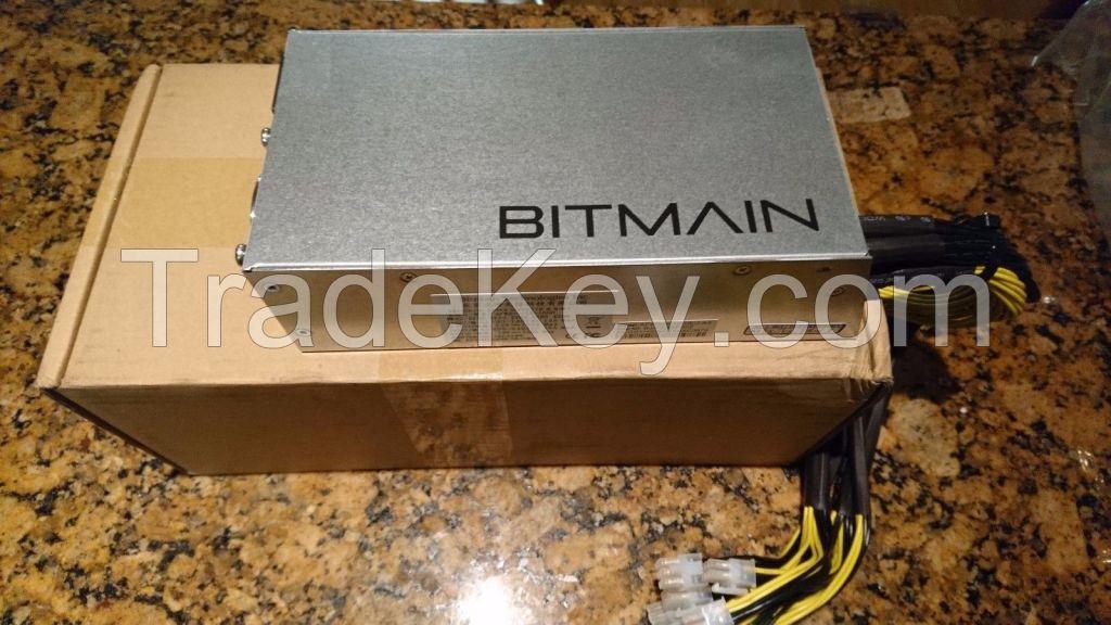 Bitmain Antminer L3+ 504 MH/s Litecoin LTC Miner