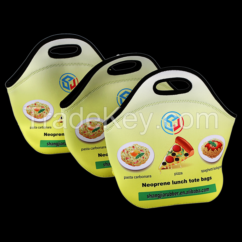 Promotion Neoprene Lunch Tote Bag With Zipper