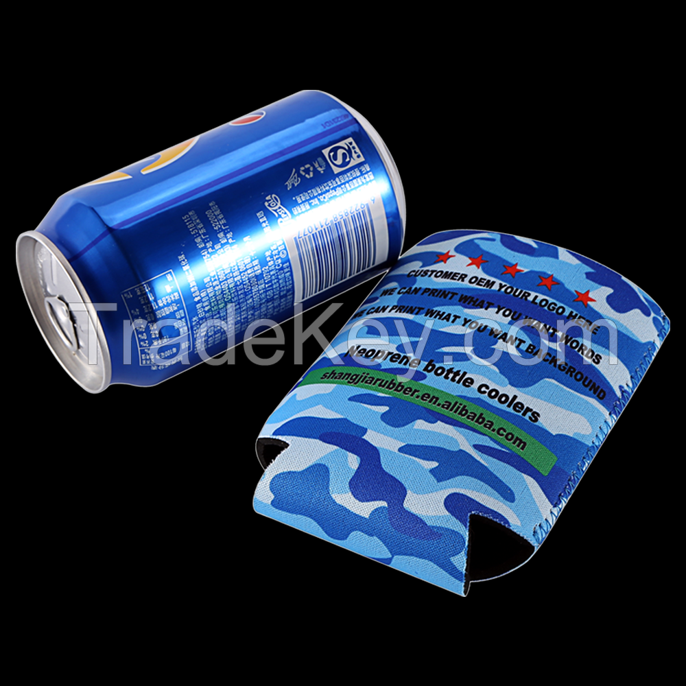 Promotion Neoprene Stubby Collapsible Can Cooler Holder In China