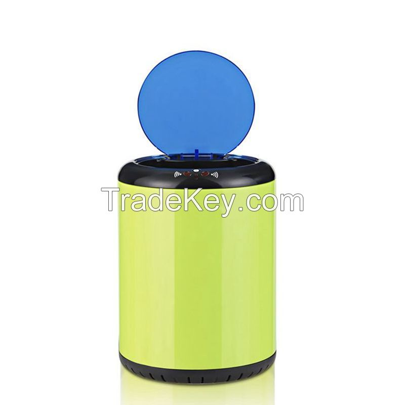 9L household hand free infrared sensor trash can