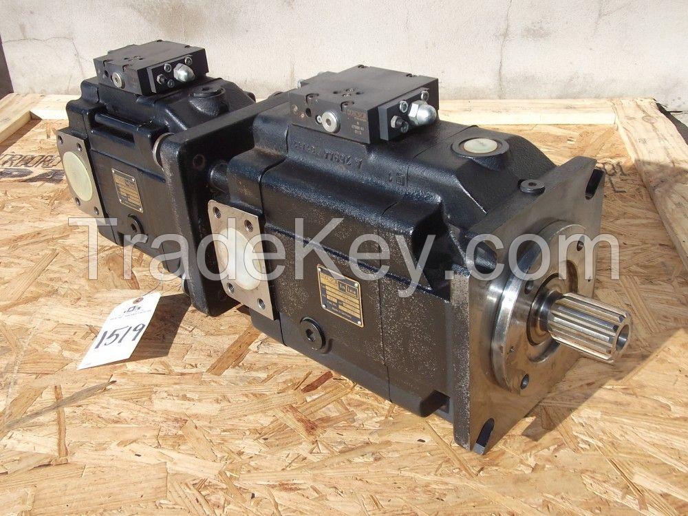 Hawe Inline V30E-95LSV-2-0-01 + V30E-160LSV-2-0-01, N 87036-40-0612, N-SO-FKM-119691-30-1712 Axial Piston Twin Pump