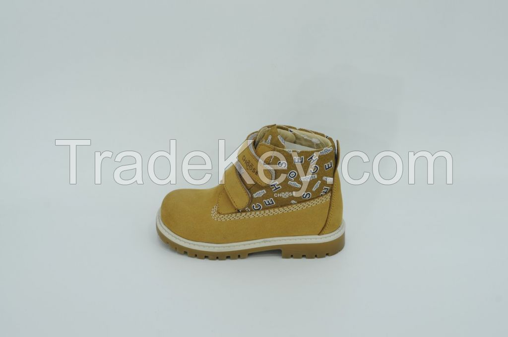 Genuine Leather Anatomic Children's Shoes