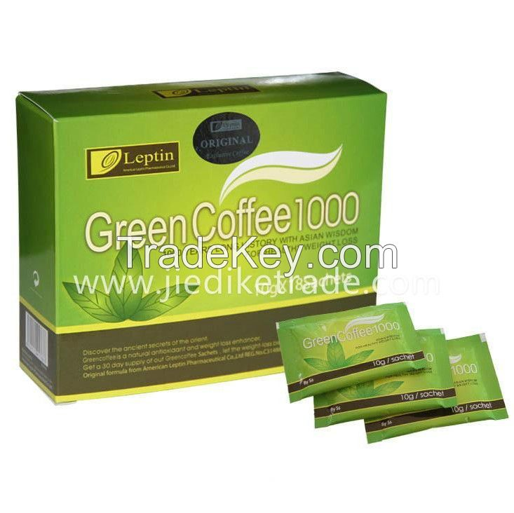 Leptin Green Slimming Coffee 1000 weight loss