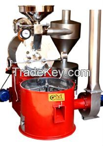 Commercial coffee roasting machine 20 kg per cycle