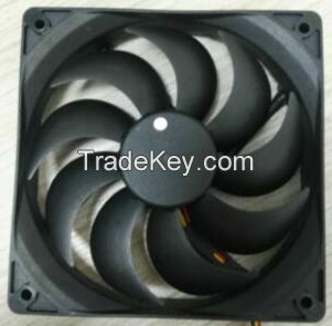 dc small fan 12volt 120x120x25mm 12025 axial flow cooling fan