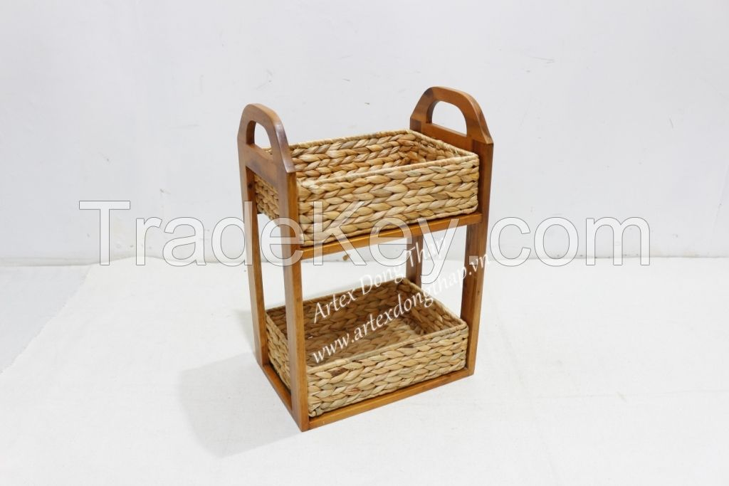 2 Tier storage caddy for home furniture-HG0230A-1NA