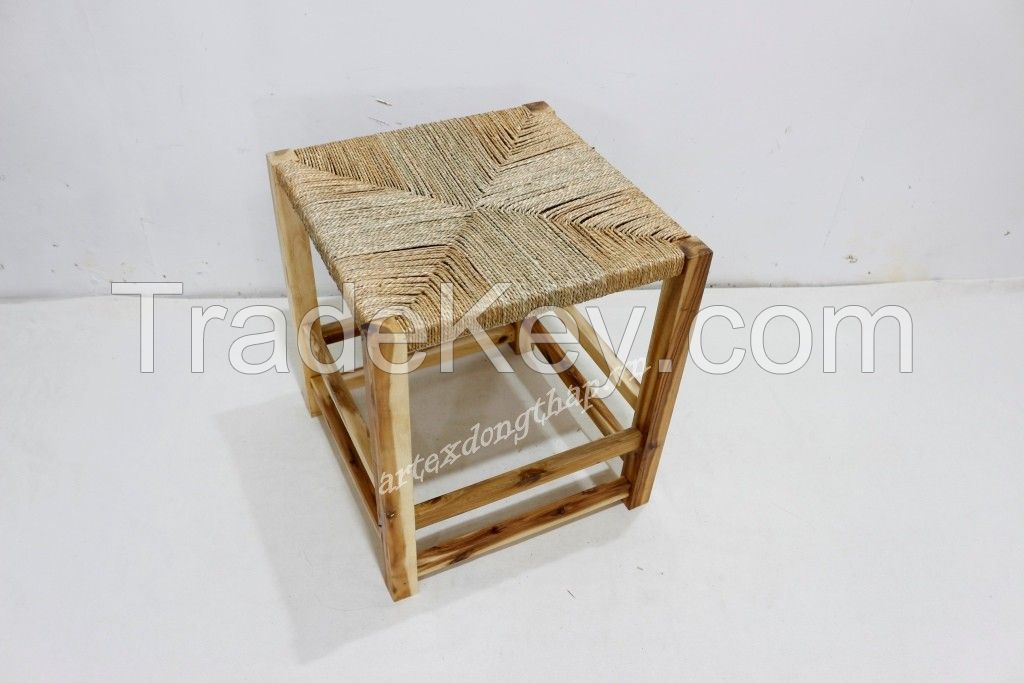 Hot item wood stool for home furniture-HG0860A-1NA