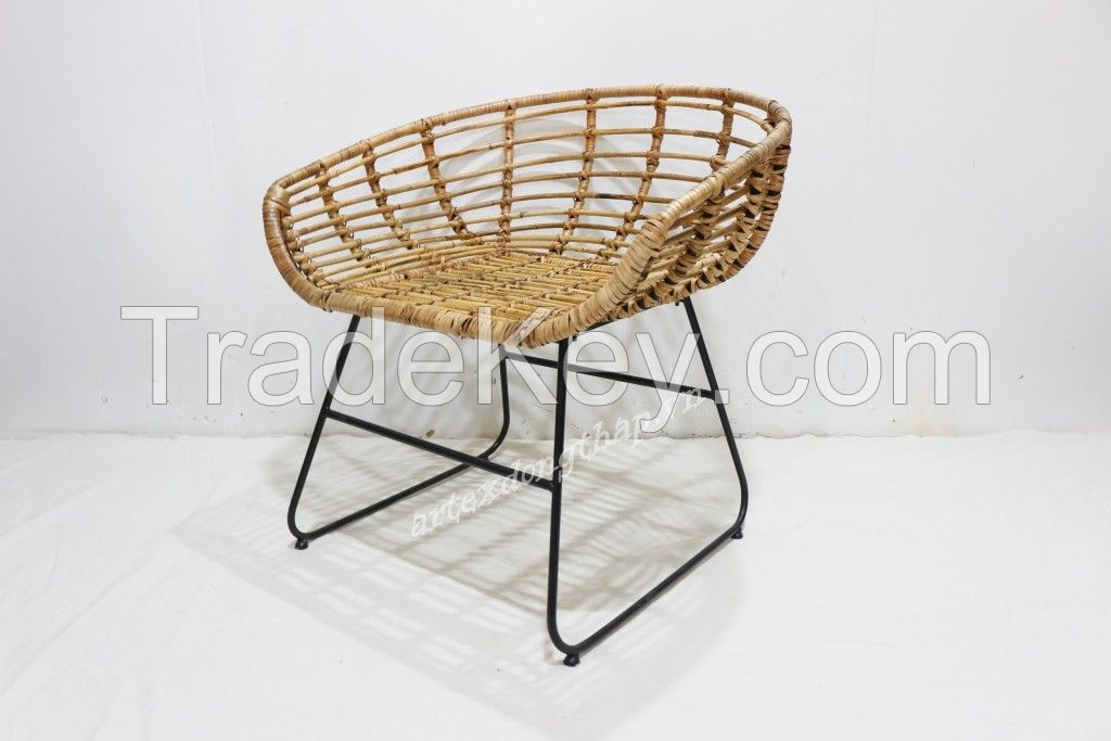 New product rattan chair for home furniture-BH3447A-1NA