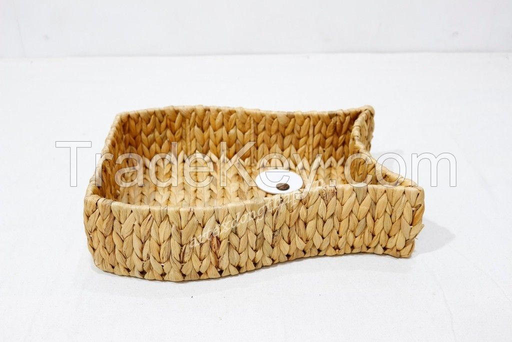Hot item water hyacinth  tray for home decor - SD1222A-2NA