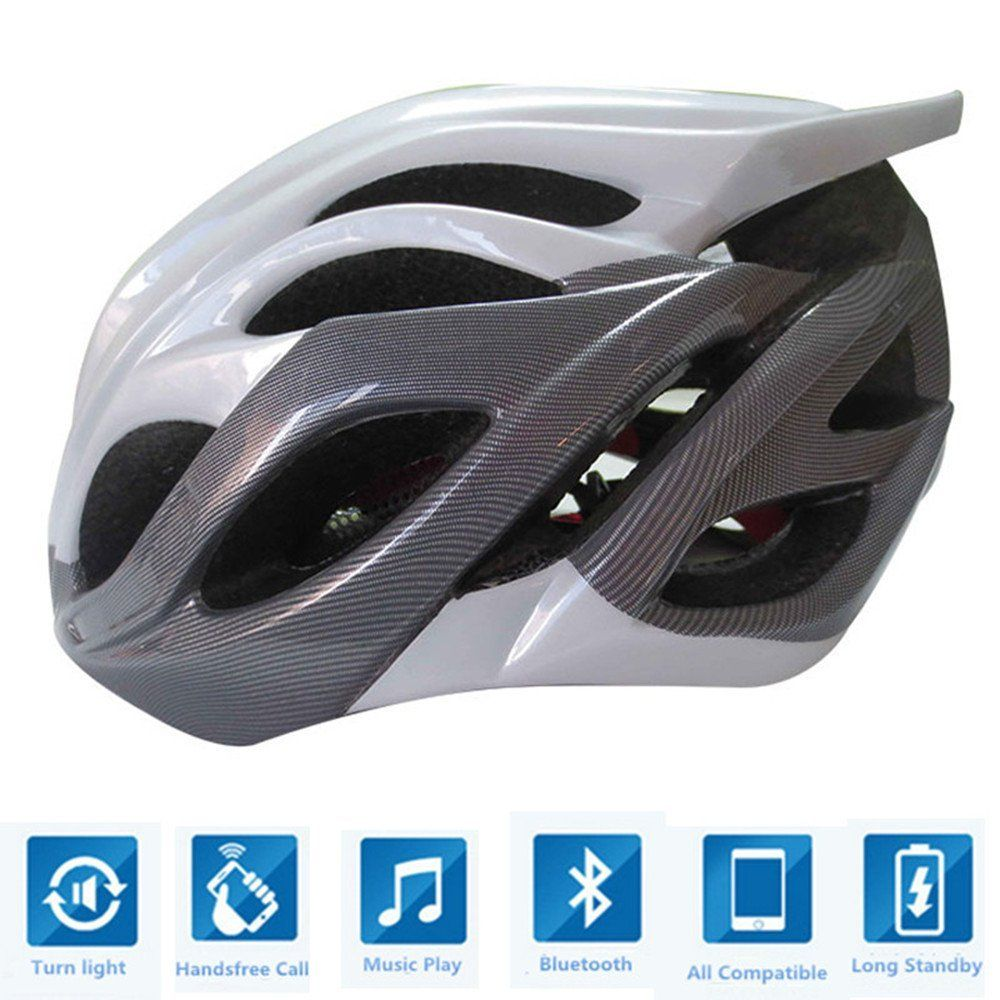 Bluetooth Helmet for Cycling-Call Pickup-Wireless music-Turn signals