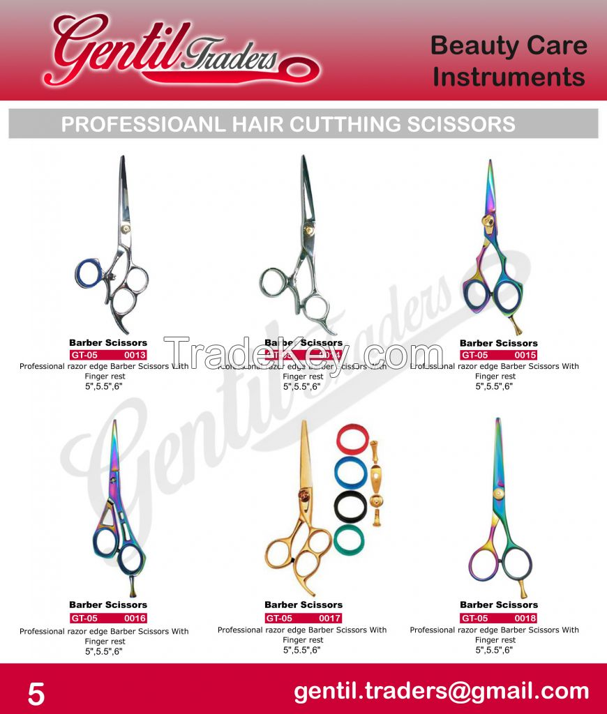 Beauty Care Instruments and personal care instruments.