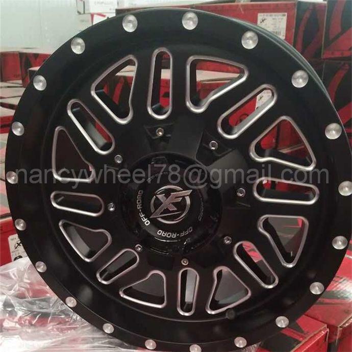 Off road 4*4 SUV Alloy wheel car wheels rims