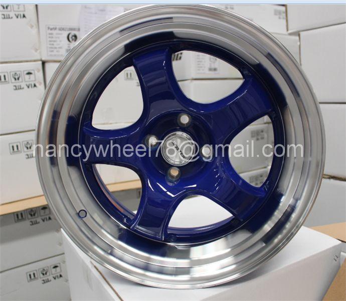 Aluminiuim alloy wheel rim with top quality car wheels