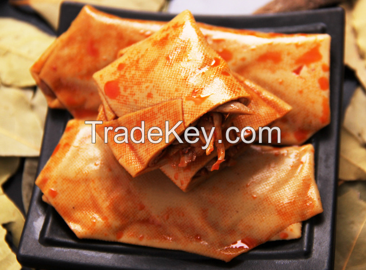 Special flavor snacks, bean rolls, 500g boxes, snack snacks, bean curd