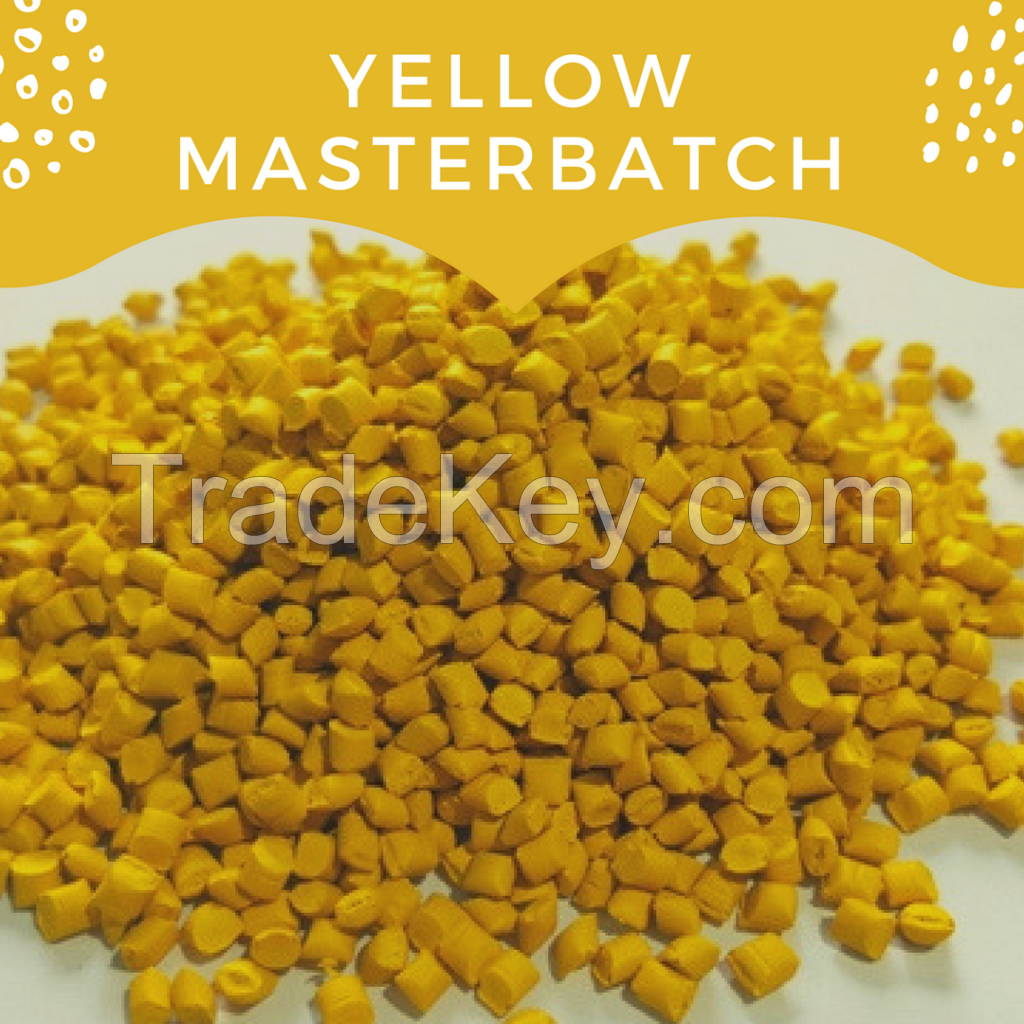 Color masterbatch for plastic bag, household application