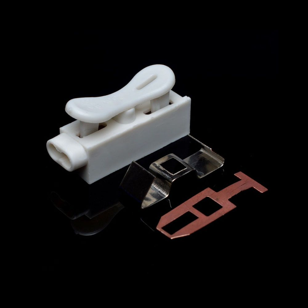 New One-Way Quick-Connect LED Terminal Block Connector Cable Clamp Terminal Block