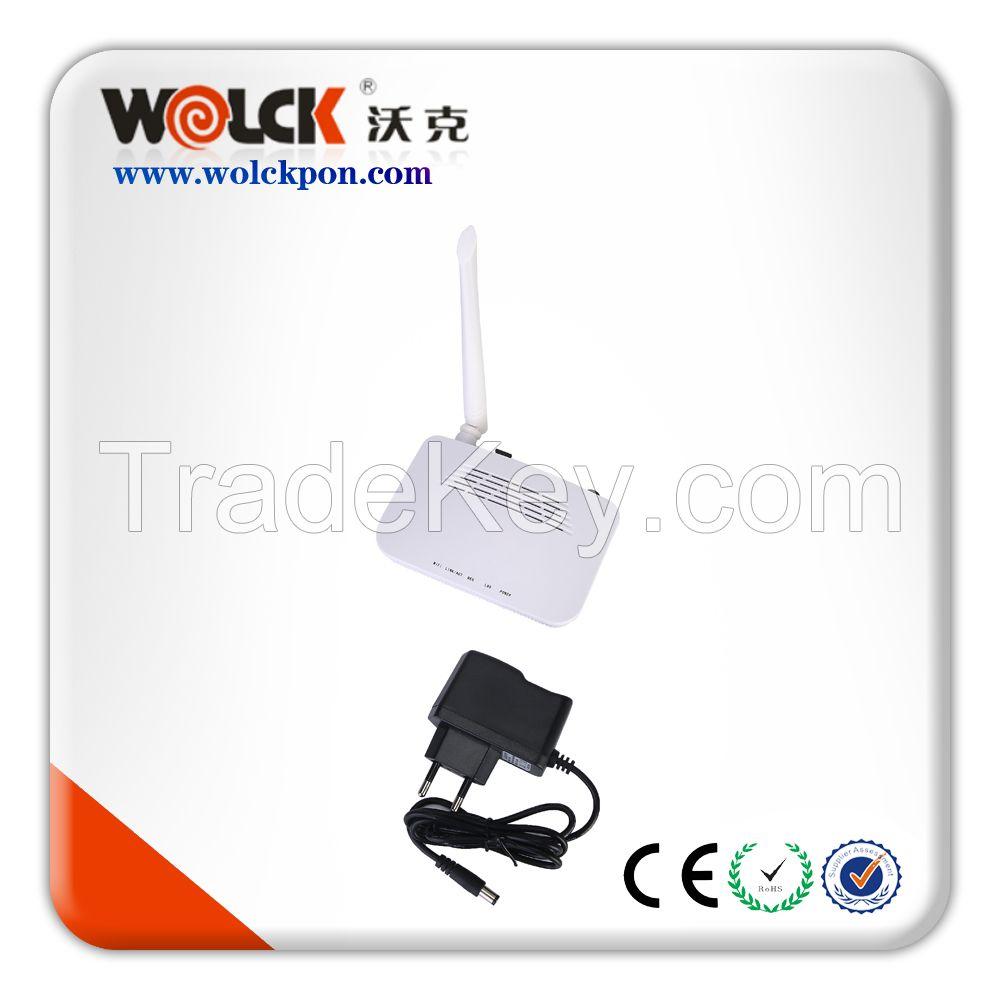 Hot Sell Fiber Optic Equipment Epon Onu 1GE+WIFI