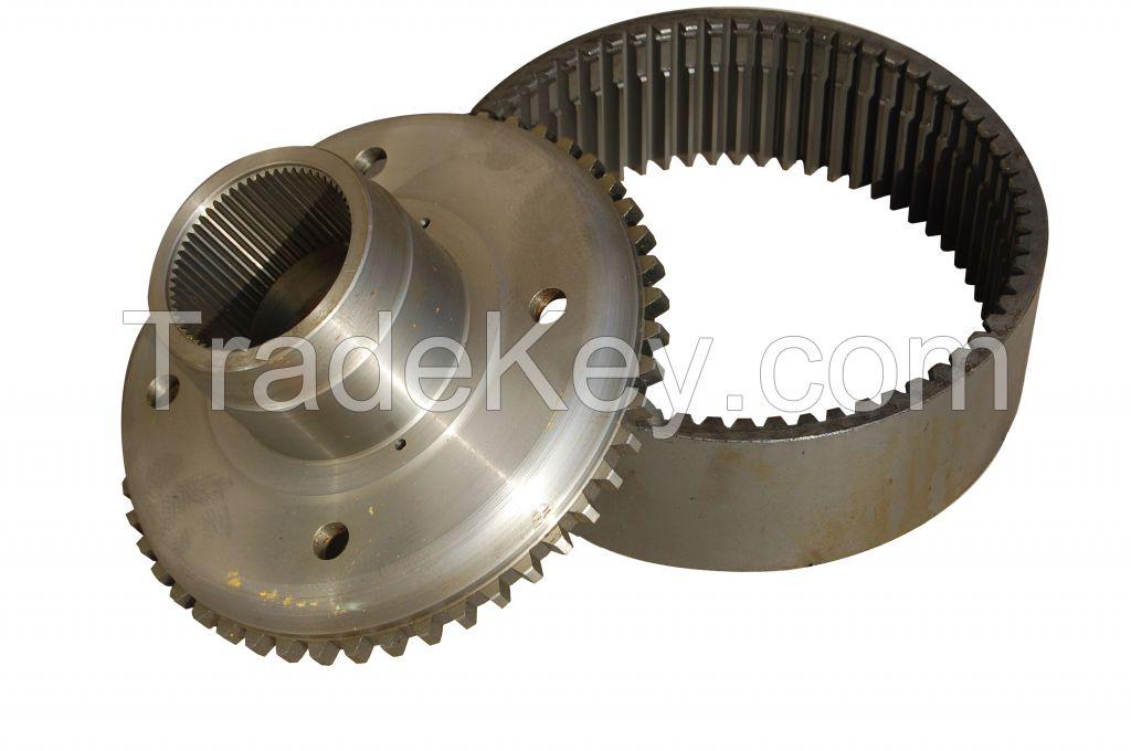 Meritor Internal Gear Support Assy 83513208 used for GR165 Motor Grader's Axle