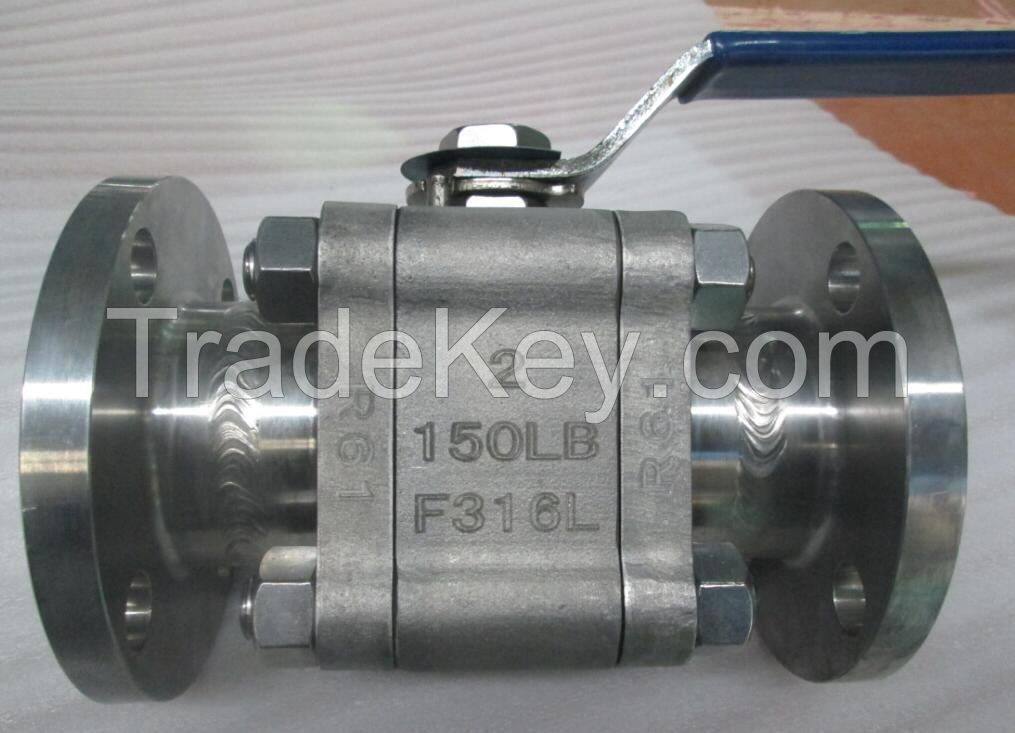 CAST TRUNNION BALL VALVE-TWO PIECE BODY