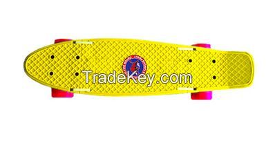 Folding pennyboard - Yellow