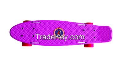 Folding pennyboard - Purple