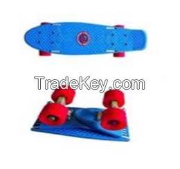 Folding SkateBoard - Blue