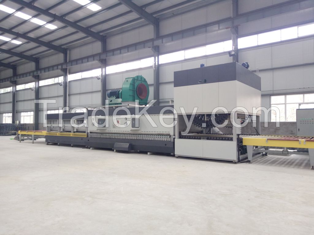 Flat and Curved Glass Tempering Furnace