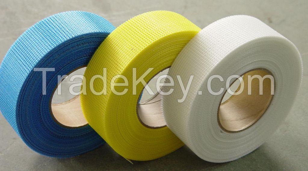 Fiber glass adhesive tape for plasterboard jointing and cracks repairing