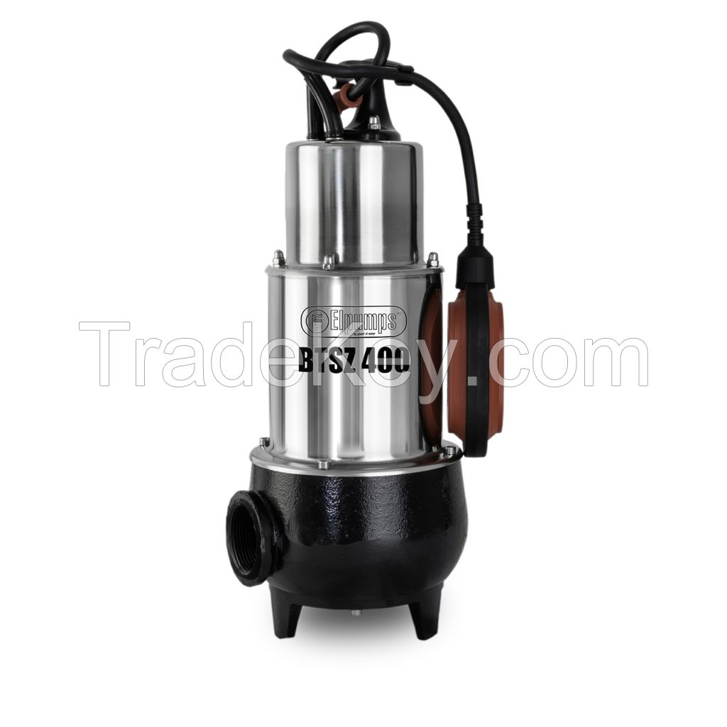 Free-flow (Vortex) submersible pumps for sewage