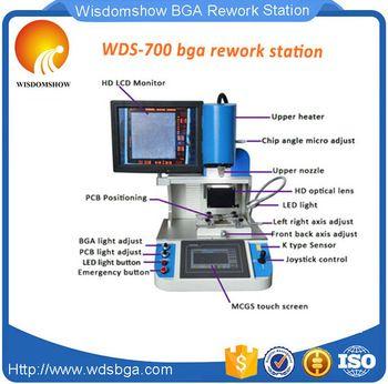 Automatic Infrared Optical BGA Rework Station Cellphone Motherboard Circuit Board Repair Machine WDS-700