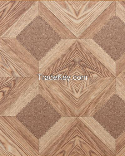 Parquet Laminate Flooring 12mm HDF  for commercial usage