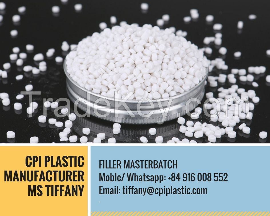 PE CACO3 FILLER MASTERBATCH FROM CPI VIETNAM