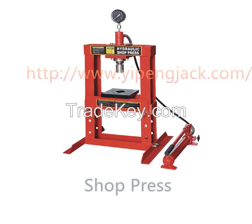 Yipeng 30 Ton Shop Press,10 Ton Shop Press