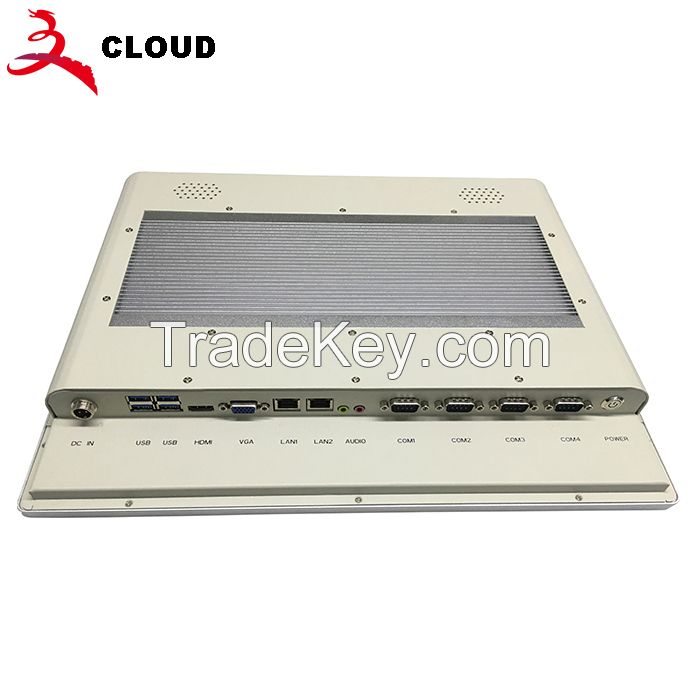 17inch all in one 5wire resistive touch panel pc