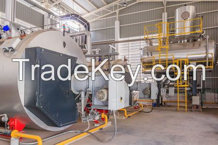 Fluidized Bed Steam or Hot Oil Boiler