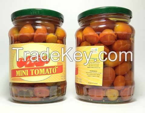 Canned Vegetables (Baby Corn, Pickles/ Gherkins, Carrot, Cherry Tomato, Sweet Corn)