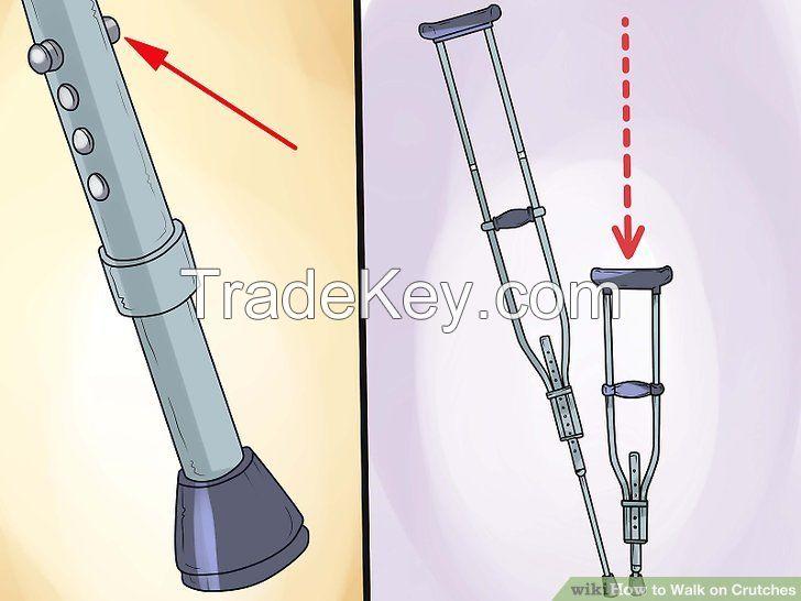 adjustable aluminum crutch for elderly / patient