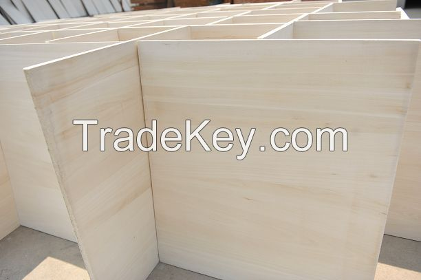 Paulownia Edge Glued and Finger Jointed Panel