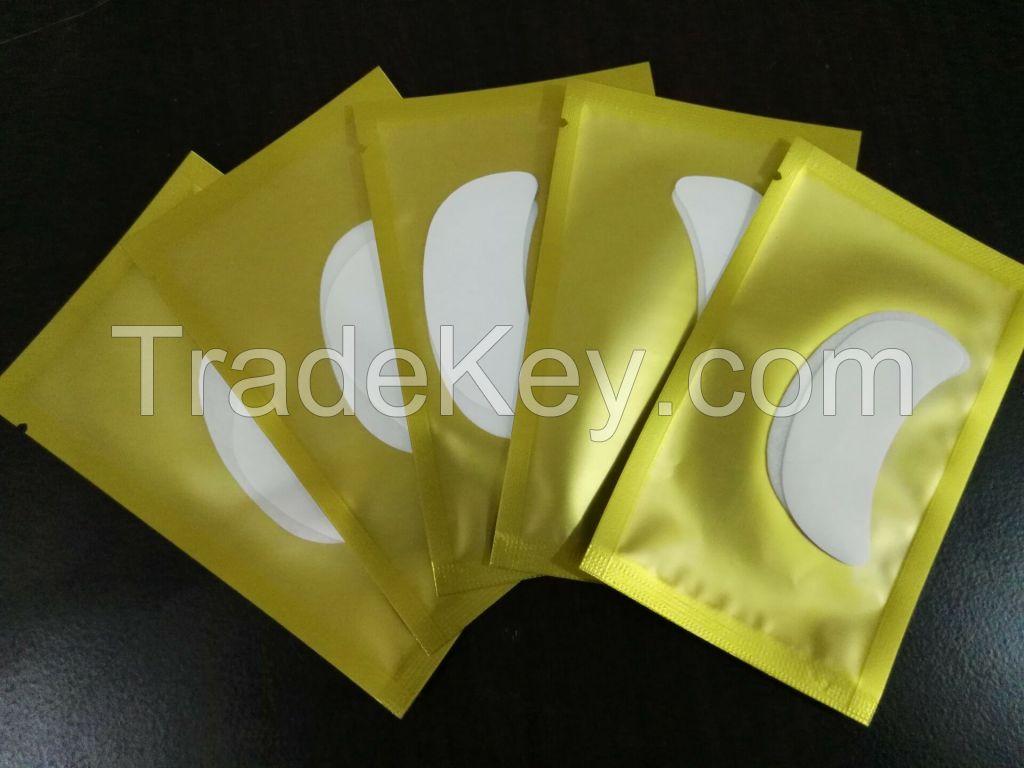 5.5*3cm White Pearl Film EYE GEL PATCH for Eyelash Extension